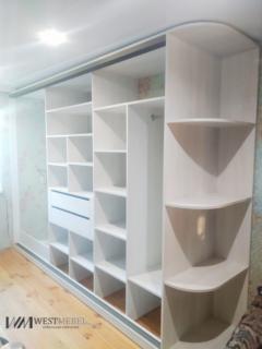 Большой шкаф венге